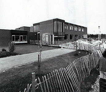 The school under construction in 1980 [PY/PH47/1]